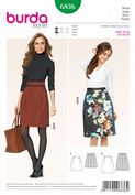 6836 Burda Pattern: Misses' Skirts